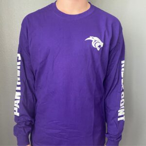 Long Sleeve Cotton RP Purple