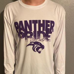 Drifit White Panther Long Sleeve